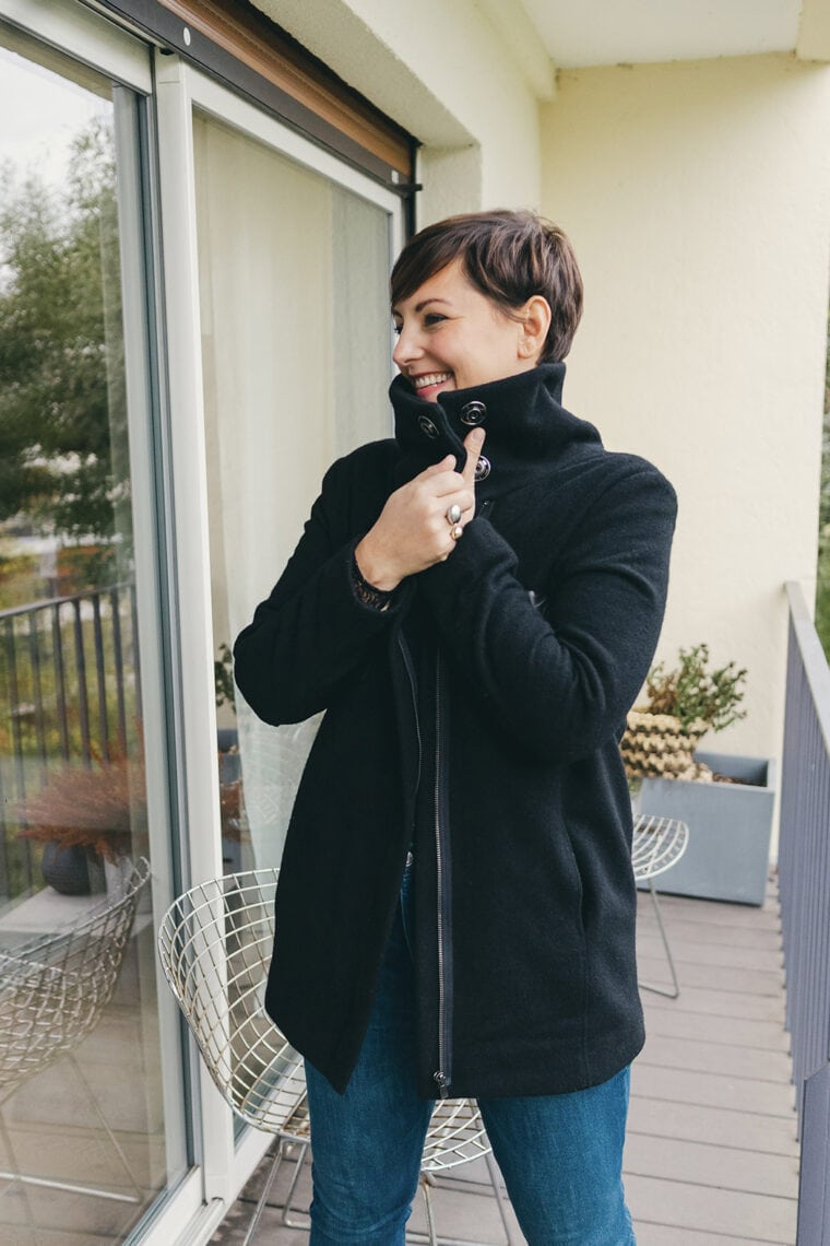 Manteau Caban Brune 02 3