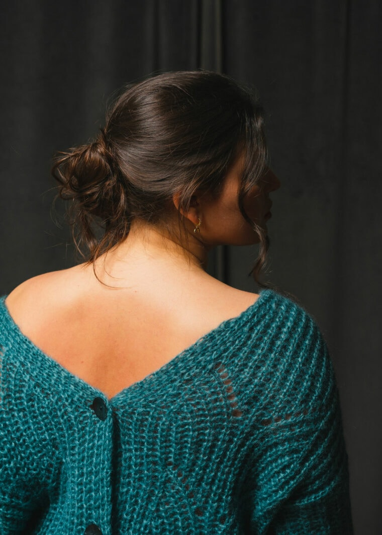 Pull En Maille Tricote Paris Mode Upcycling