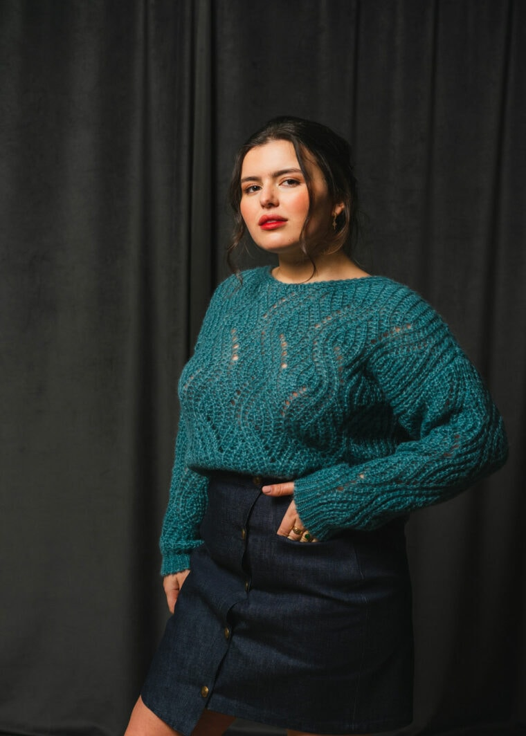 Pull Maille Tricote A Paris Mode Upcycling