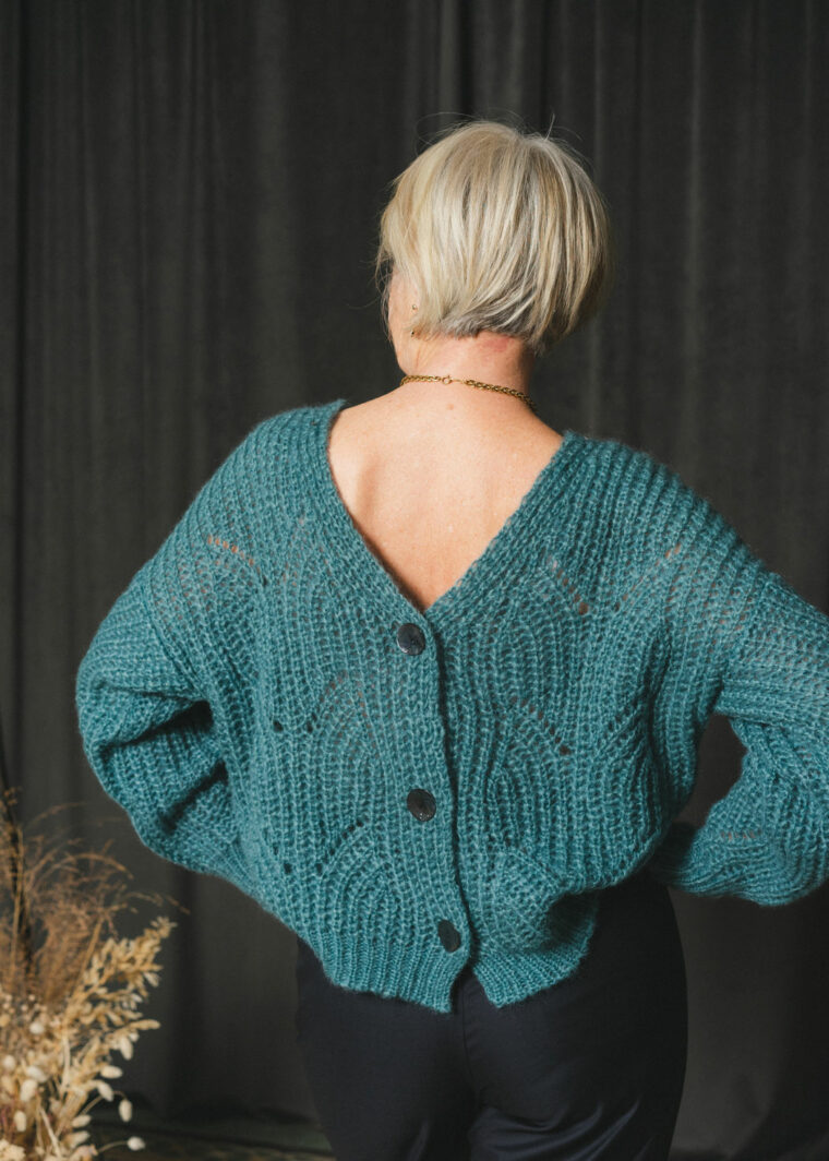 Pull Tricote En Maille Paris Mode Upcycling